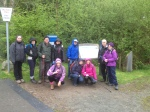 Some of peoples services about to climb snowdon