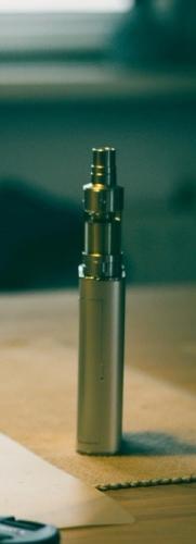 Coffee and an e cigarette
