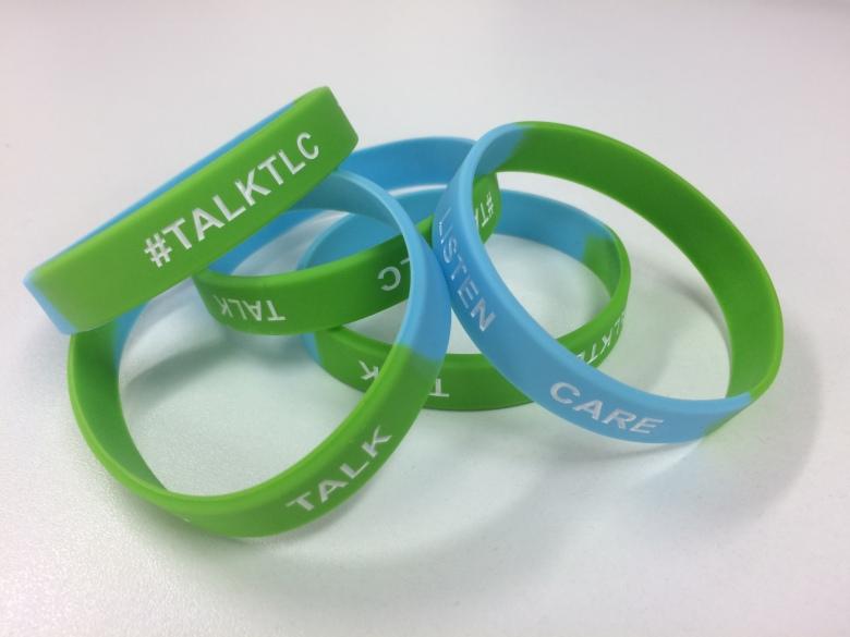 TalkTLC Wristbands
