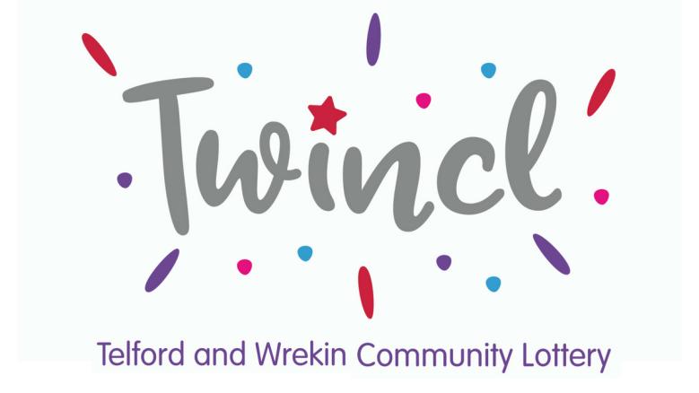 Telford and Wrekin Community Lottery logo
